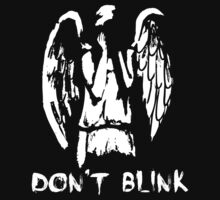 Don't Blink / Weeping Angels - Doctor Who Inspired Shirt! by spot-on