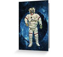 Astro Pug Greeting Card