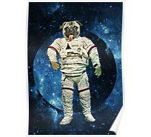Astro Pug Poster