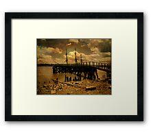 Hudson River Dreams Framed Print