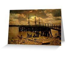Hudson River Dreams Greeting Card