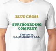 Blue Cross Surfboarding Company Unisex T-Shirt