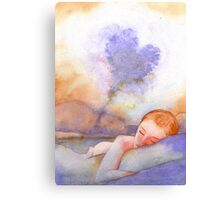 Scent On My Pillow Canvas Print