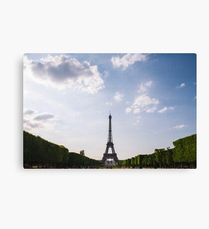 Eiffel Tower France Canvas Print