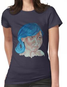 Chinese girl 2 Womens Fitted T-Shirt