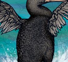 Flightless Cormorant of Galapagos Sticker
