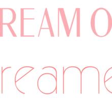 Dream On Dreamer Sticker