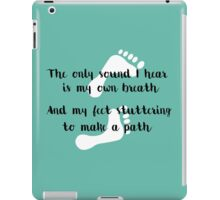 Rattlesnake Lyrics Highlight iPad Case/Skin