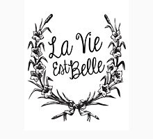 La Vie est Belle Womens Fitted T-Shirt