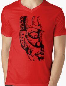 Aztec Mens V-Neck T-Shirt