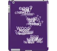 Drunk Deductions iPad Case/Skin