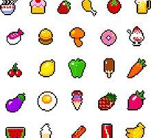 Food - pixel art by galegshop