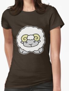 cute aries Womens Fitted T-Shirt