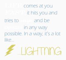 A Lot Like Lightning One Piece - Short Sleeve