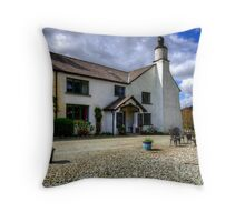 Cote How Organic Tea Room Throw Pillow