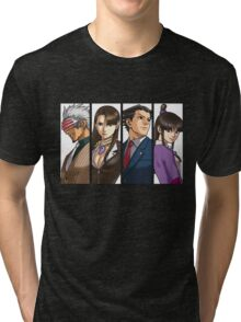 Trials & Tribulations Panels Tri-blend T-Shirt