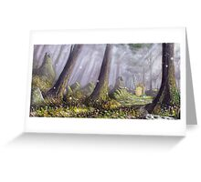 Totoro's Forest Greeting Card