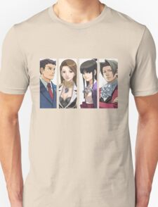 Ace Attorney Panels T-Shirt