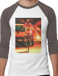 Marco Pantani Painting Men's Baseball ¾ T-Shirt