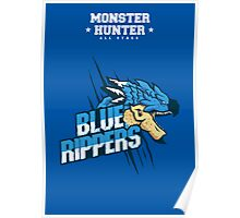 Monster Hunter All Stars - Blue Rippers [Subspecies] Poster