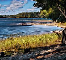 End of the Trail  by Terry  Pellmar