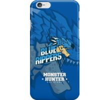 Monster Hunter All Stars - Blue Rippers [Subspecies] iPhone Case/Skin