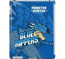 Monster Hunter All Stars - Blue Rippers [Subspecies] iPad Case/Skin