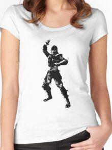 Mortal Kombat NOOB SAIBOT Women's Fitted Scoop T-Shirt