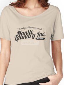 Nanite Laundry - Black Women's Relaxed Fit T-Shirt