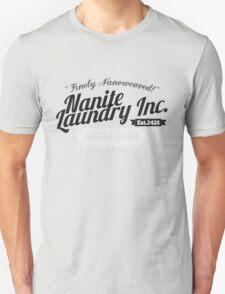 Nanite Laundry - Black Unisex T-Shirt