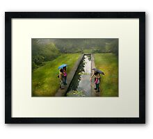 Country - A day out with the girls Framed Print