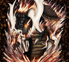 Fire Dragon by OliverDemers