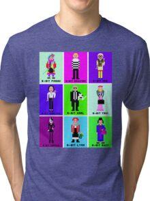 8-Bit Fashion Icons Tri-blend T-Shirt