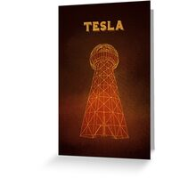 Tesla Tower Greeting Card