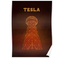 Tesla Tower Poster