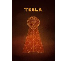 Tesla Tower Photographic Print
