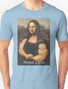 Mona Lifta (Muscular Mona Lisa) T-Shirt