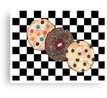 Eat Cookies Canvas Print