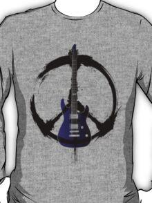 Peace Music Guitar T-Shirt