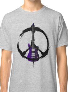 Peace Music Guitar Classic T-Shirt