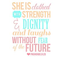 Proverbs 31 Photographic Print