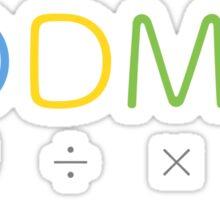 BODMAS - Math Rules Sticker