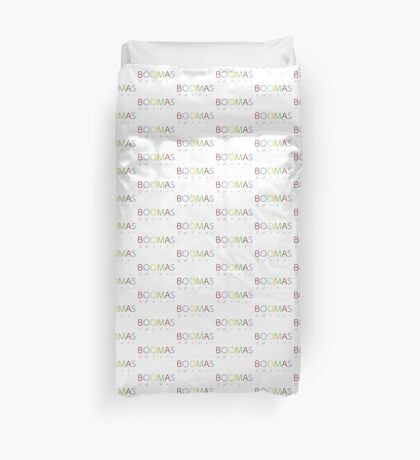BODMAS - Math Rules Duvet Cover