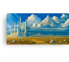 White Kingdom Canvas Print