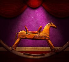 Toy - Hobby horse by Mike  Savad