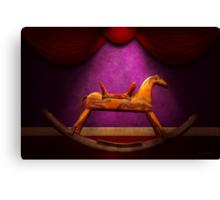 Toy - Hobby horse Canvas Print