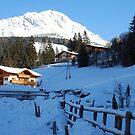 Winter in Filzmoos by Arie Koene