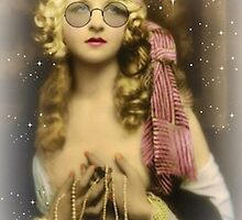 Vintage Bohemian Lady by caroleanne