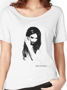 Conchita Wurst - Unstoppable Women's Relaxed Fit T-Shirt