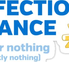 Perfectionist Alliance Sticker